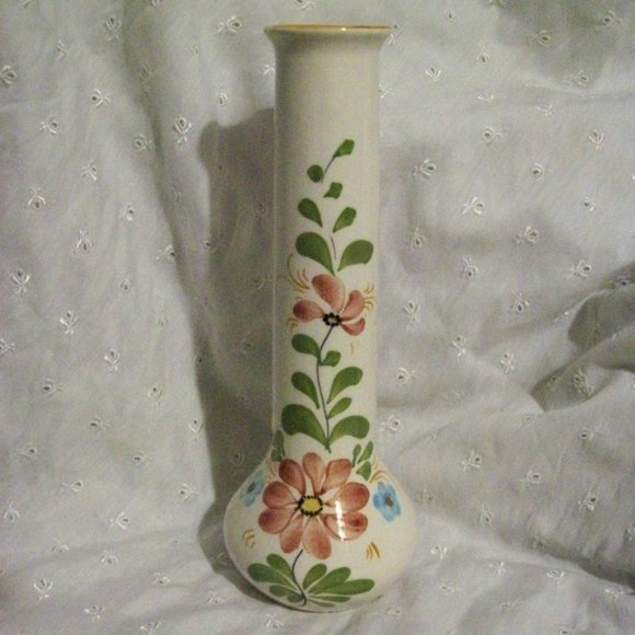 VTG (1983) FTD Ceramic Bud Vase Made for Boscov's
